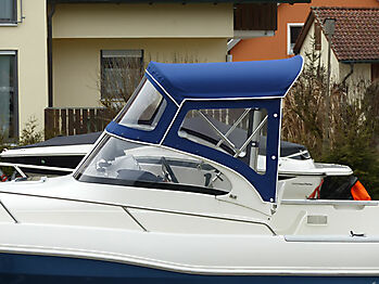 Sprayhood Quicksilver 630 commander Bimini 04