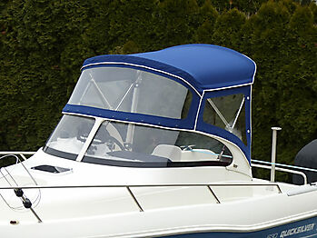 Sprayhood Quicksilver 630 commander Bimini 06
