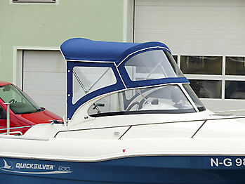 Sprayhood Quicksilver 630 commander Bimini 10