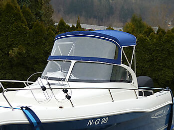 Sprayhood Quicksilver 630 commander Bimini 12