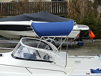 Sprayhood Quicksilver 630 commander Bimini 14
