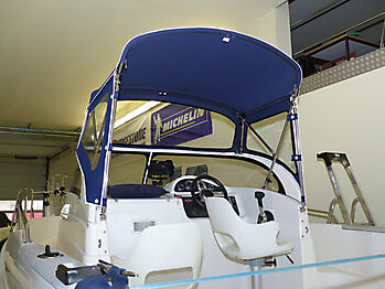 Sprayhood Quicksilver 630 commander Bimini 21