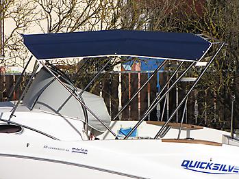 Bimini Quicksilver 635 Commander WA Sonnenverdeck  06