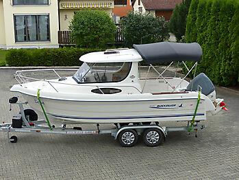 Bimini Quicksilver 635 Pilothouse Biminitop Sonnenschutz  01