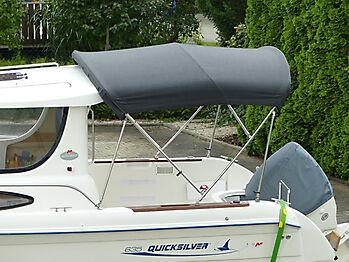Bimini Quicksilver 635 Pilothouse Biminitop Sonnenschutz  02