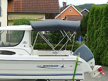 Bimini Quicksilver 635 Pilothouse Biminitop Sonnenschutz  04