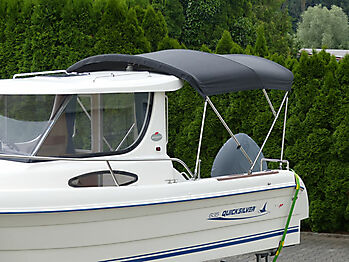 Bimini Quicksilver 635 Pilothouse Biminitop Sonnenschutz  06