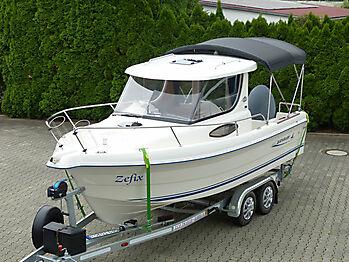 Bimini Quicksilver 635 Pilothouse Biminitop Sonnenschutz  07