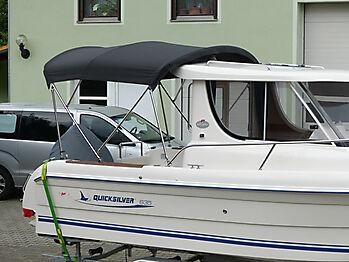 Bimini Quicksilver 635 Pilothouse Biminitop Sonnenschutz  10