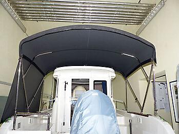 Bimini Quicksilver 635 Pilothouse Biminitop Sonnenschutz  11