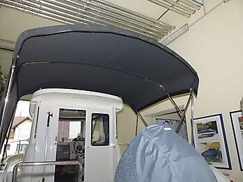 Bimini Quicksilver 635 Pilothouse Biminitop Sonnenschutz  12