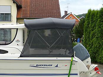Bimini Quicksilver 635 Pilothouse Biminitop Sonnenschutz  13