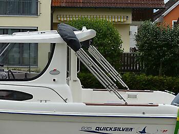 Bimini Quicksilver 635 Pilothouse Biminitop Sonnenschutz  17