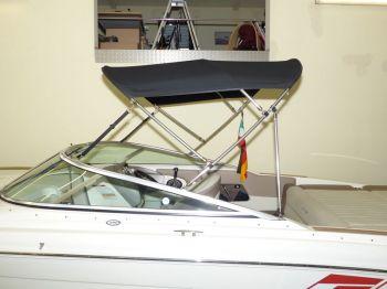 Bimini Sea Ray 240 SSE Sonnenverdeck 01
