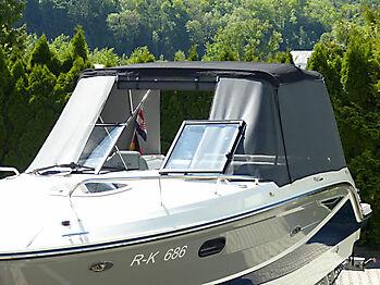 Bimini Sea Ray 250 SSE Sonnenschutz 06