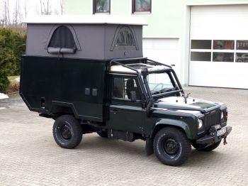 Dachzelt Land Rover Defender 110 Aufstelldach 01
