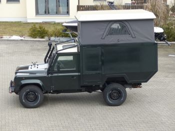 Dachzelt Land Rover Defender 110 Aufstelldach 02