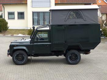 Dachzelt Land Rover Defender 110 Aufstelldach 04
