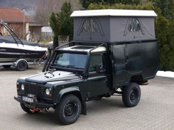 Dachzelt Land Rover Defender 110 Aufstelldach 06