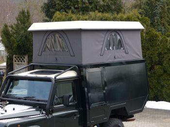 Dachzelt Land Rover Defender 110 Aufstelldach 07