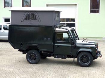 Dachzelt Land Rover Defender 110 Aufstelldach 08