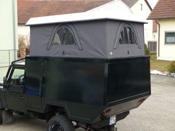 Dachzelt Land Rover Defender 110 Aufstelldach 09