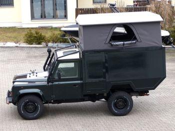 Dachzelt Land Rover Defender 110 Aufstelldach 11