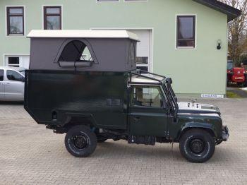 Dachzelt Land Rover Defender 110 Aufstelldach 16