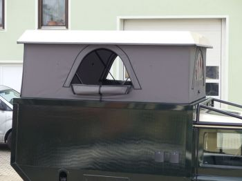Dachzelt Land Rover Defender 110 Aufstelldach 17