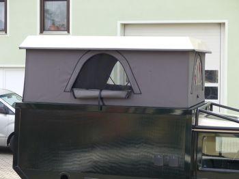 Dachzelt Land Rover Defender 110 Aufstelldach 18
