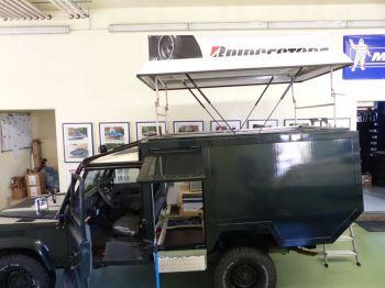 Dachzelt Land Rover Defender 110 Aufstelldach 25
