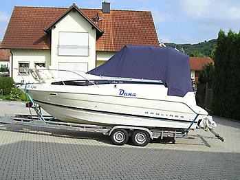 Persenning ueber Verdeck Bayliner 2355 Verdeckschutzpersenning03