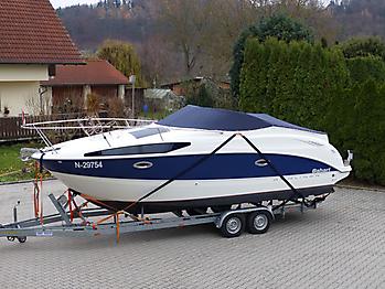 Persenning Bayliner 265 Weathermax 80 admiralblau Bootspersenning 01