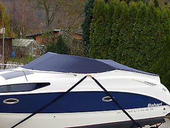 Persenning Bayliner 265 Weathermax 80 admiralblau Bootspersenning 02