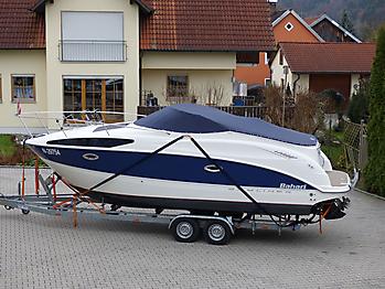 Persenning Bayliner 265 Weathermax 80 admiralblau Bootspersenning 03