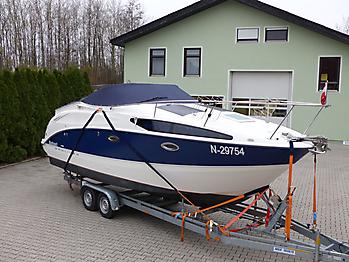 Persenning Bayliner 265 Weathermax 80 admiralblau Bootspersenning 07
