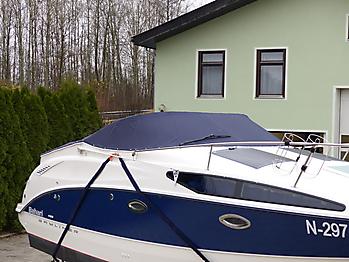 Persenning Bayliner 265 Weathermax 80 admiralblau Bootspersenning 08