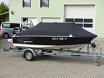 Persenning Bayliner Element 160 Bootspersenning 06