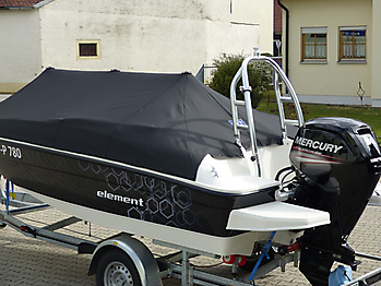 Persenning Bayliner Element 160 Bootspersenning 08