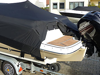 Persenning Bayliner VR5 Cuddy Outboard Ganzpersenning 08