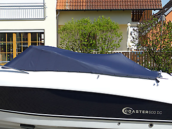Persenning Coaster 600 DC Scandica 20 Oceanmaster 600 Cabin Bootspersenning 04