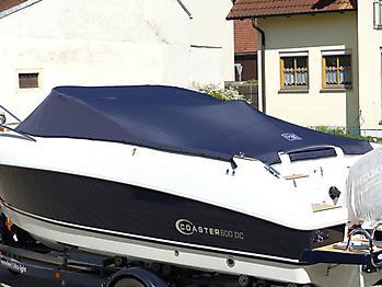 Persenning Coaster 600 DC Scandica 20 Oceanmaster 600 Cabin Bootspersenning 08