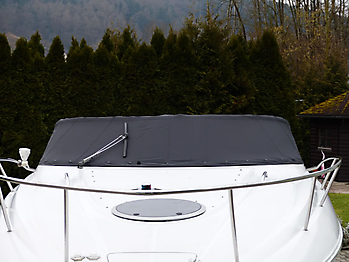 Persenning Crownline 250 CR Weathermax 80 schwarz Bootspersenning 07