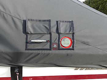 Persenning Malibu Wakesetter 23 LSV Ganzpersenning 12