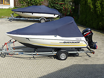 Persenning Quicksilver 500 Commander Open Bootspersenning 01