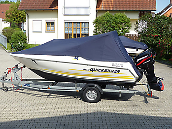 Persenning Quicksilver 500 Commander Open Bootspersenning 02