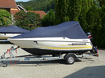 Persenning Quicksilver 500 Commander Open Bootspersenning 03