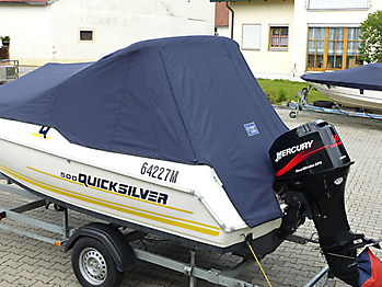 Persenning Quicksilver 500 Commander Open Bootspersenning 08