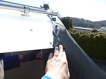 Persenning Quicksilver activ 705 cruiser Bootspersenning 05