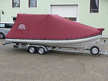Persenning Ranieri Cayman 23 Sport Touring nautisches Zelt 06